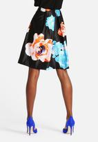 The Lot - Floral Flirt Skirt