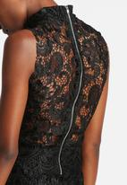 The Lot - Vanity Fair Crochet Maxi Dress