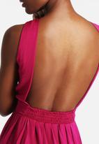 Goldie - Harmony Satin Dress