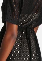 Goldie - Rage Lace Knee Dress