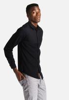 S.P.C.C. - Denim Twill Combo Shirt