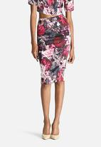 Bardot - Winter Floral Midi Skirt