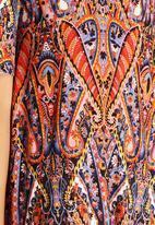 Glamorous - Rust Print Dress