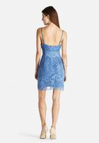 Glamorous - Lace Overlay Slip Dress