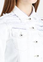 Glamorous - Slashed Denim Jacket