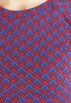American Apparel - Long Sleeve Crop Jacquard Crop Top