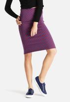American Apparel - Ponte Mid Length Skirt