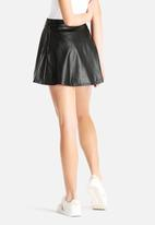 American Apparel - Vegan Leather Skirt