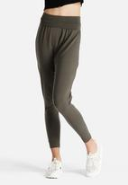 American Apparel - Cotton Spandex Jersey Harem Pants