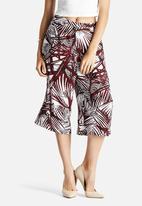 Glamorous - Palm Print Culottes