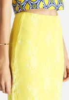 Glamorous - Lace Overlay Skirt
