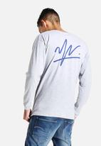 Young and Lazy - Signature Logo L/S Tee