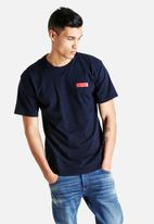 Young and Lazy - Box Logo S/S Tee
