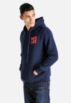 Young and Lazy - Graffiti Hoodie