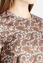 Glamorous - Cap Sleeve Swing Dress