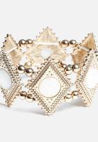 New Look - Stretch Iridescent Diamond Bracelet