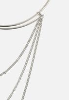 New Look - 70's Multi Row Torque Necklace