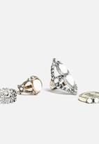New Look - Opaque Pretty Ring Pack