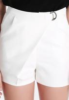 Lavish Alice - Crossover D-Ring Shorts