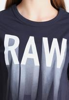 G-Star RAW - Gretch Cropped Tee