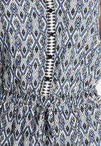 New Look - Ally Aztec Button Jumpsuit