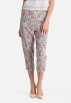 New Look - Marissa Paisley Slim Crop Pant