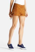 Glamorous - Side Lace-Up Shorts