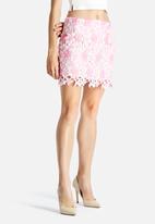 Glamorous - Crochet Skirt