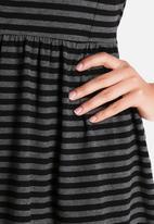 ONLY - Niella Stripe Mesh Dress
