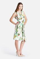 Lavish Alice - Belted Longline Dress