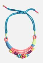 Pichulik - Pink Mali Necklace