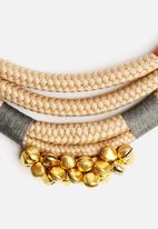 Pichulik - Beige Mali Necklace