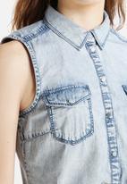 ONLY - Claire Denim Shirt Dress