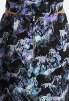 Neon Rose - Unicorn Mini Skirt