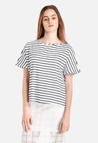 Glamorous - Stripe Top