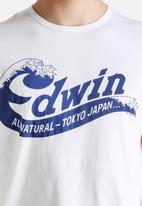 Edwin - Wave Script Tee