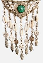 New Look - Cowry Shell Statement Necklace