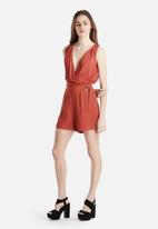 New Look - D Ring Wrap Playsuit