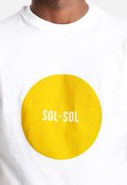 Sol-Sol - Mustard Circle Tee
