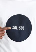 Sol-Sol - Navy Circle Tee