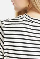 American Apparel - Stripe T-Shirt Romper