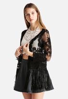 Goldie - Show Off Lace & Tassel Jacket