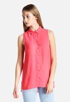 New Look - Split Side Memphis Shirt