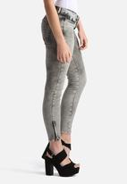 Noisy May - Eve Super Slim Ankle Jeans