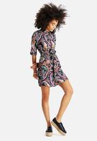 AX Paris - Multi Printed Shirt Dress