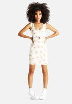 AX Paris - Print Cut Out Dress