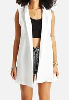 AX Paris - Plain Sleeveless Jacket