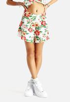 AX Paris - Floral Wrap Suit