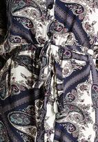 AX Paris - Multi Paisley Shirt Dress