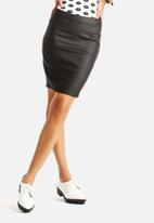 VILA - Lim Coated Skirt
